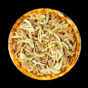 Minipizza Tonijn