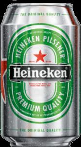 Blik bier Heineken